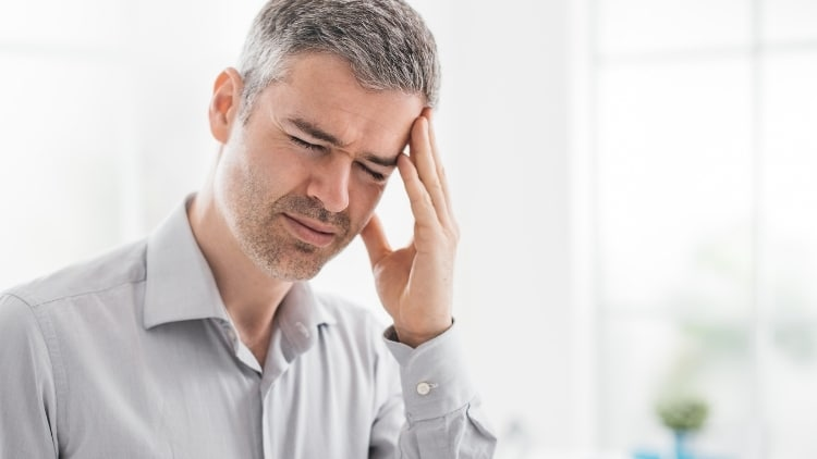 Kopfschmerzen-Migräne